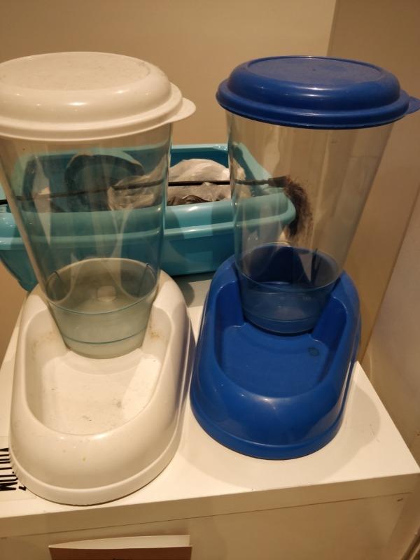 Recyclage, Récupe & Don d'objet : abreuvoir pour chat croquette et eau