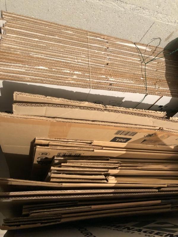 Recyclage, Récupe & Don d'objet : environ 60 cartes de déménagement