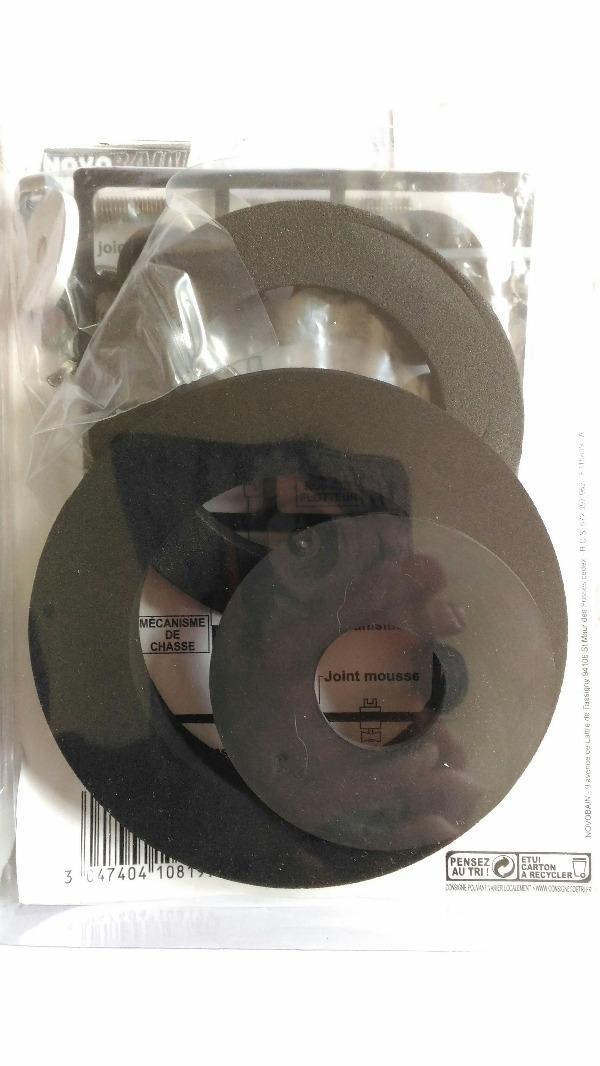 Recyclage, Récupe & Don d'objet : kit wc joints + fixations