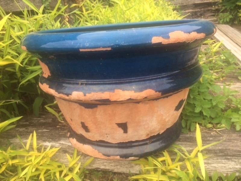 Recyclage, Récupe & Don d'objet : donne pot terre cuite