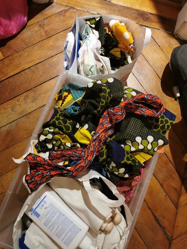 Recyclage, Récupe & Don d'objet : chutes de tissus et vêtements