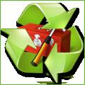 Recyclage, Récupe & Don d'objet : grand parasol rouge