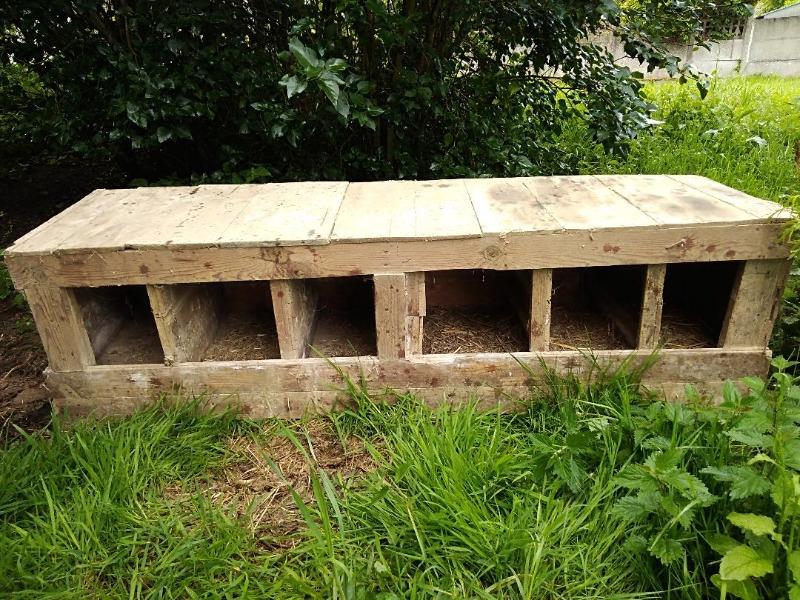 Recyclage, Récupe & Don d'objet : 6 cases bois