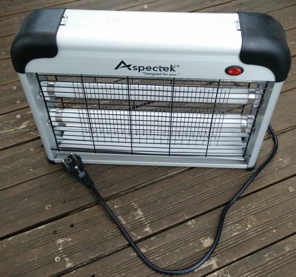 Recyclage, Récupe & Don d'objet : lampe électrique anti-moustiques aspectek 20w