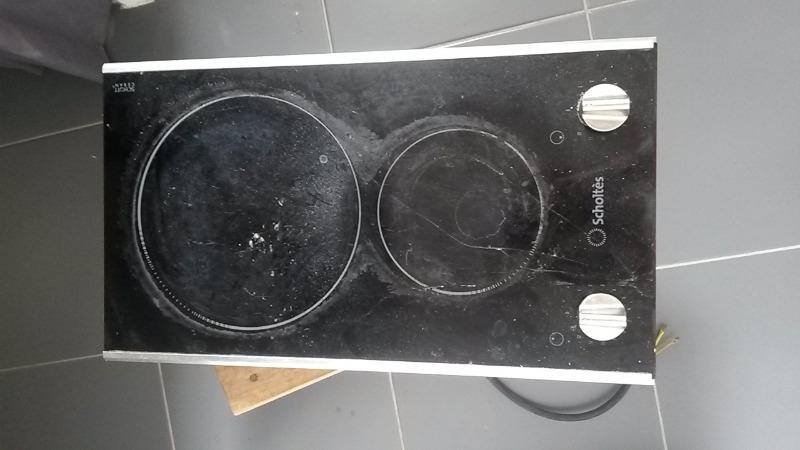 Recyclage, Récupe & Don d'objet : plaque de cuisson 2 foyers