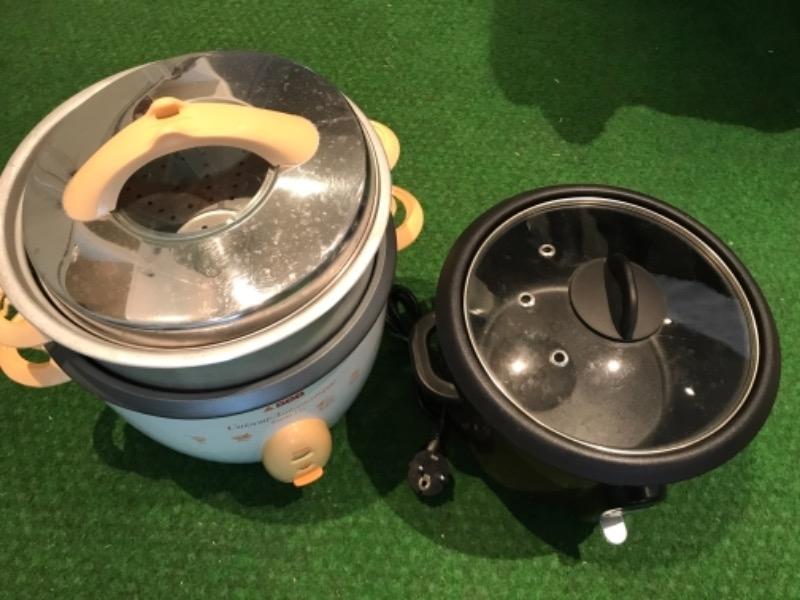 Recyclage, Récupe & Don d'objet : 2 cuiseurs à riz sur paris