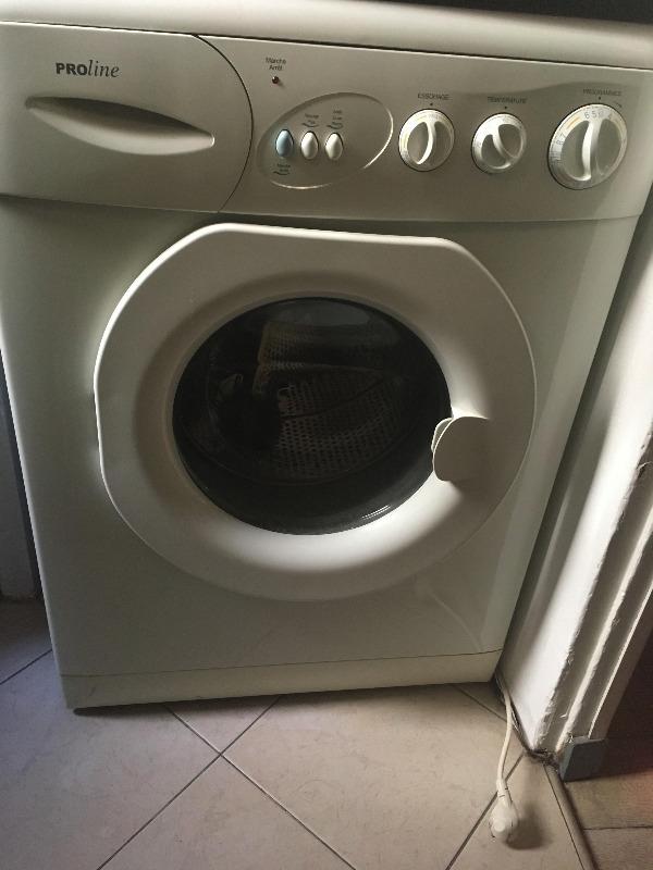 Recyclage, Récupe & Don d'objet : lave-linge proline