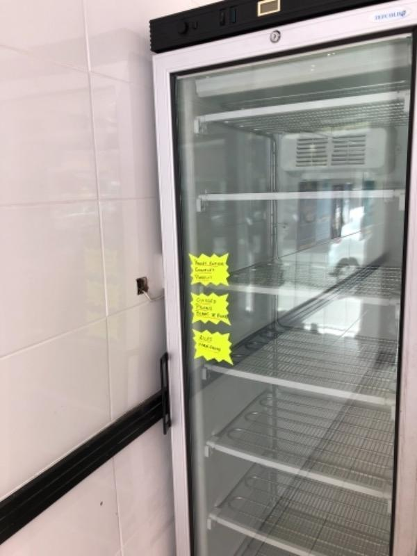 Recyclage, Récupe & Don d'objet : armoire de congelation