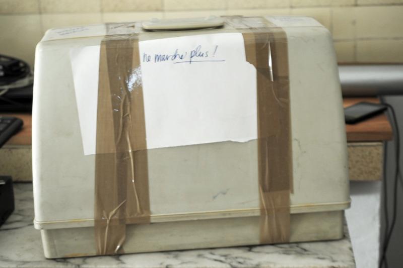Recyclage, Récupe & Don d'objet : machine a coudre