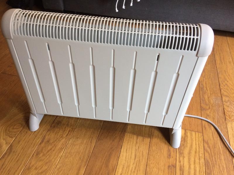 Recyclage, Récupe & Don d'objet : chauffage électrique appoint - delonghi