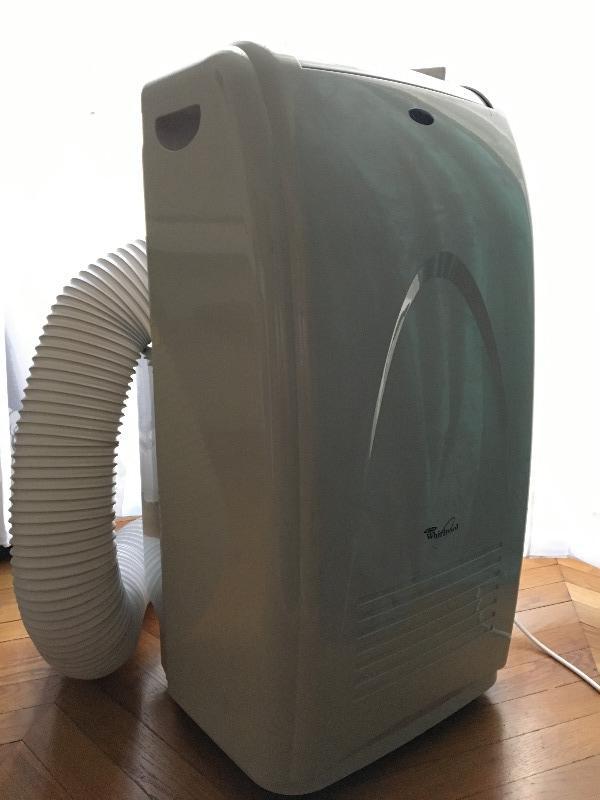Recyclage, Récupe & Don d'objet : climatiseur sur roulettes