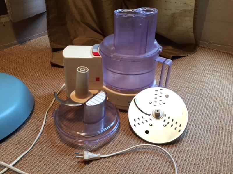 Recyclage, Récupe & Don d'objet : robot de cuisine mixeur