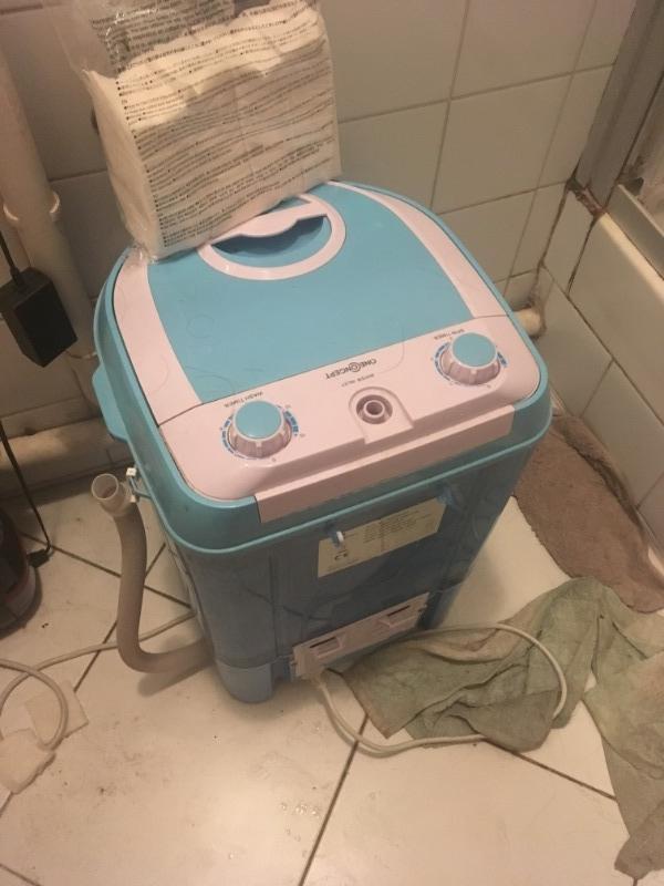 Recyclage, Récupe & Don d'objet : mini lave-linge