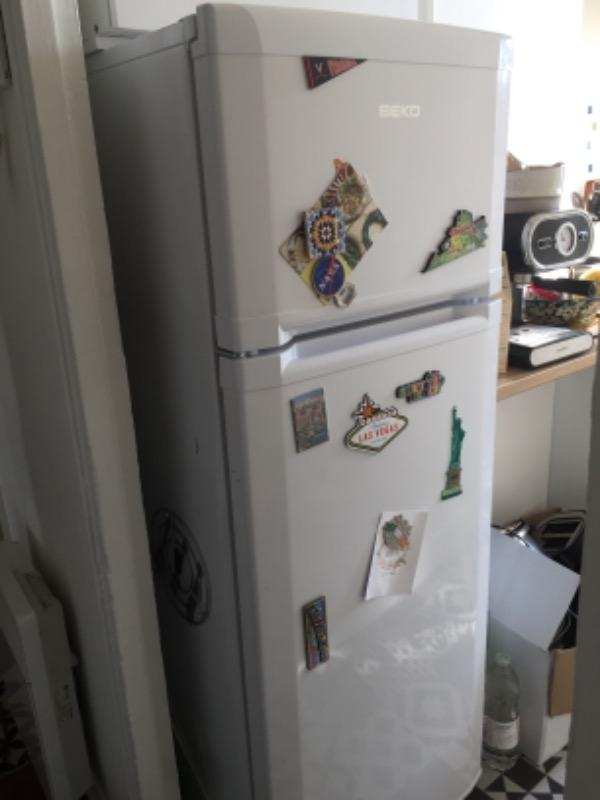 Recyclage, Récupe & Don d'objet : réfrigérateur combiné beko