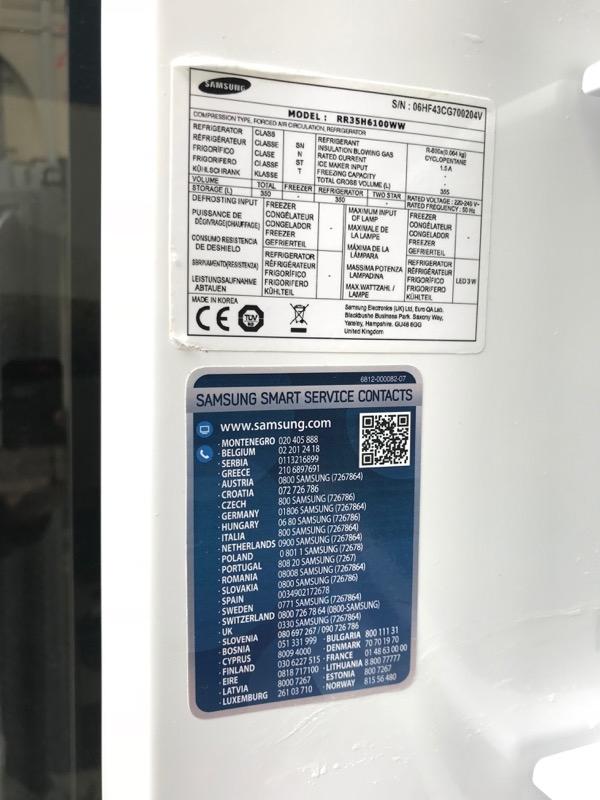 Recyclage, Récupe & Don d'objet : grand réfrigérateur samsung