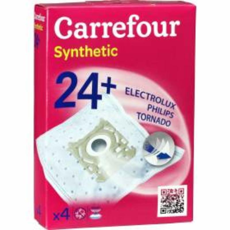 Recyclage, Récupe & Don d'objet : sac aspirateur carrefour synthetic 24+