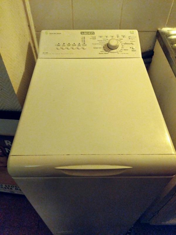 Recyclage, Récupe & Don d'objet : lave linge top