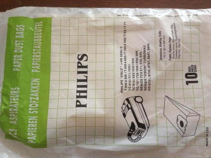 Recyclage, Récupe & Don d'objet : sacs aspirateurs philips (1)