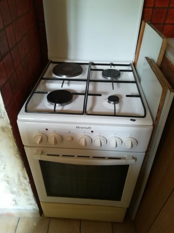 Recyclage, Récupe & Don d'objet : cuisinière mixte