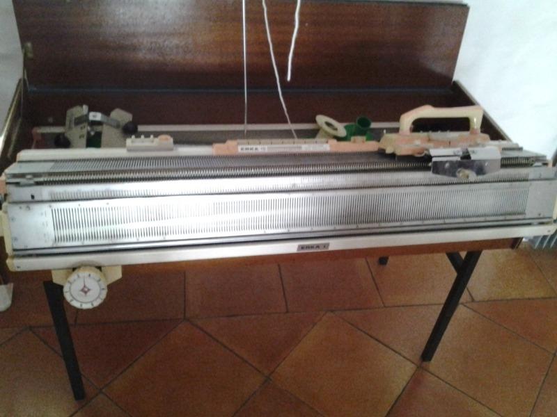 Recyclage, Récupe & Don d'objet : machine à tricoter