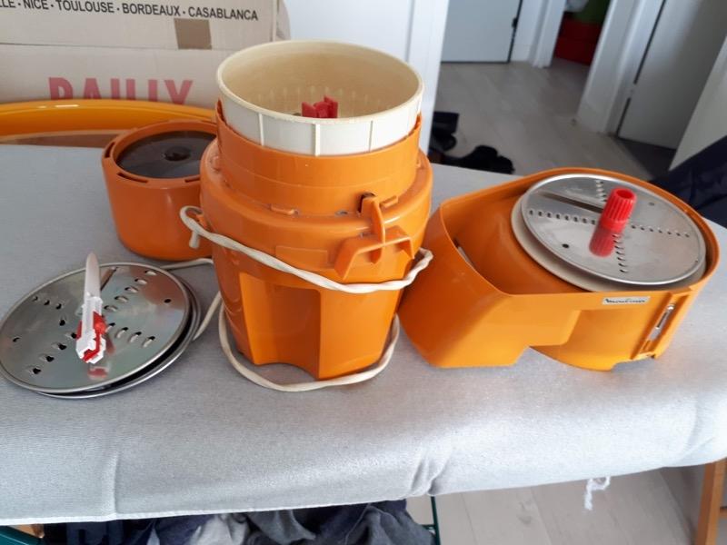 Recyclage, Récupe & Don d'objet : robot moulinex