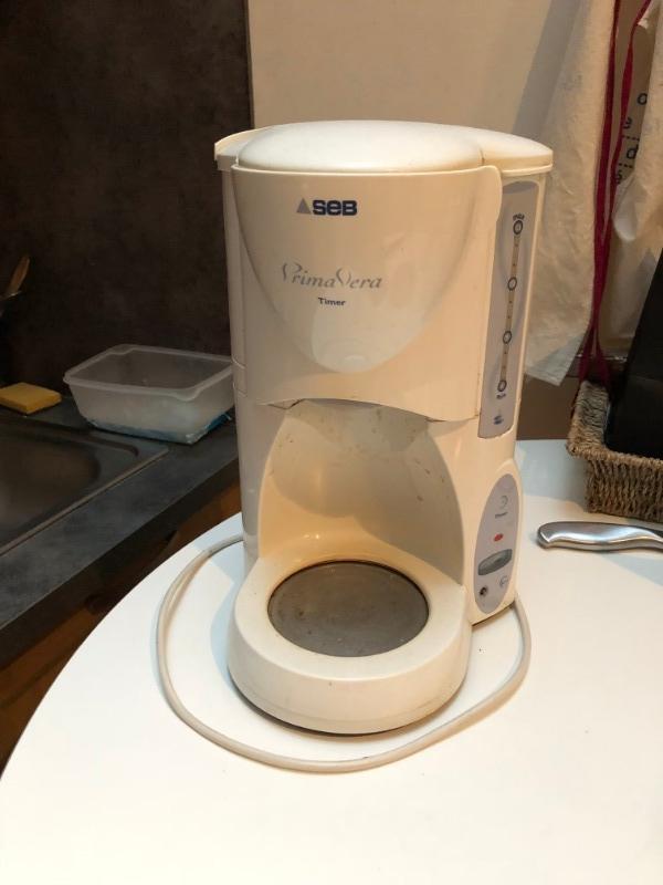 Recyclage, Récupe & Don d'objet : machine à café