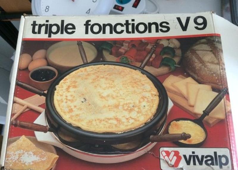 Appareil raclette - ElectroMénager