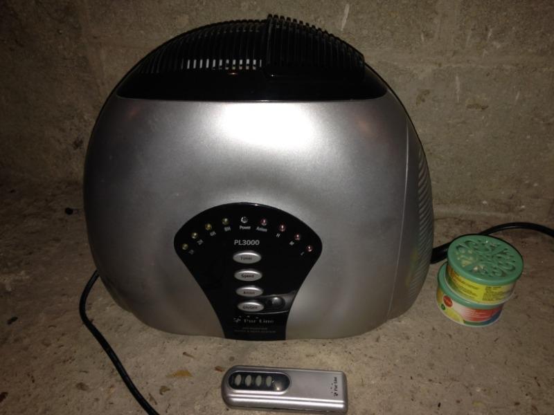 Recyclage, Récupe & Don d'objet : purificateur d'air ioniseur