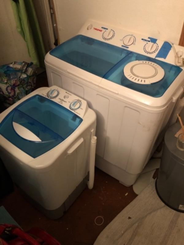 Recyclage, Récupe & Don d'objet : 2 machines à laver portable