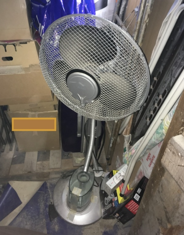 Recyclage, Récupe & Don d'objet : ventilateur - brumisateur aeg