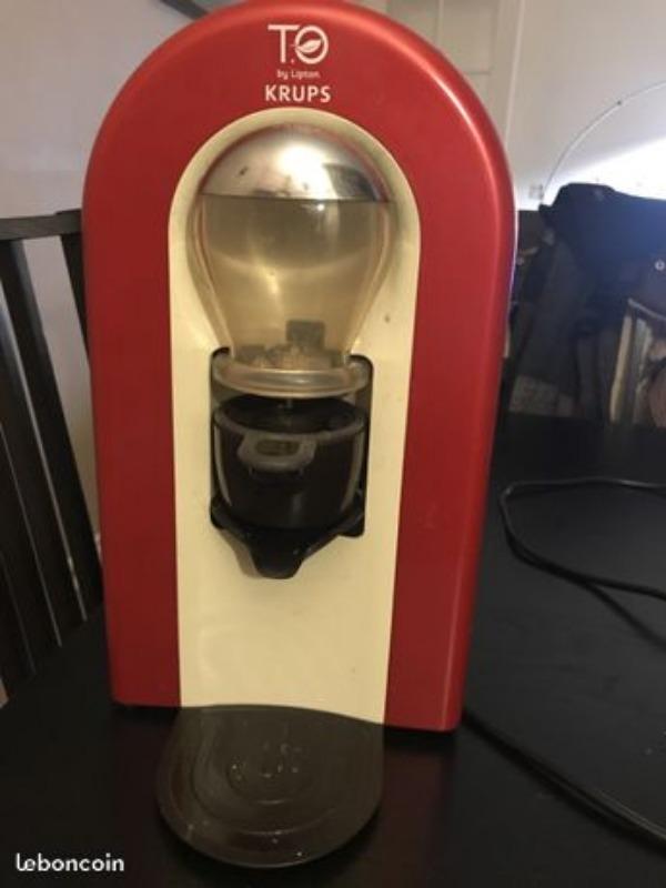 Recyclage, Récupe & Don d'objet : machine à thé to by lipton