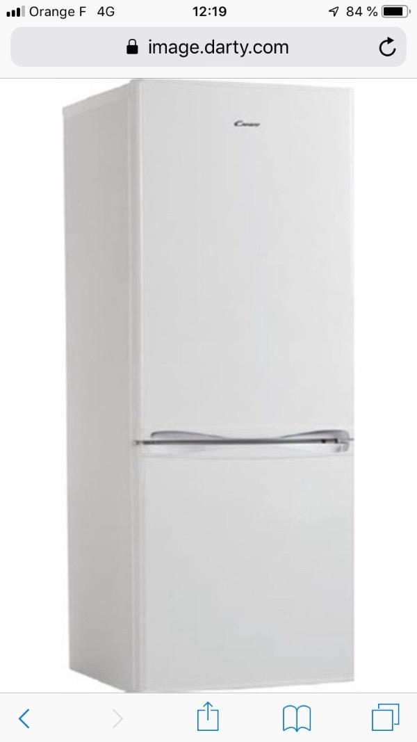 Recyclage, Récupe & Don d'objet : 1 frigo congélateur en bon état candy