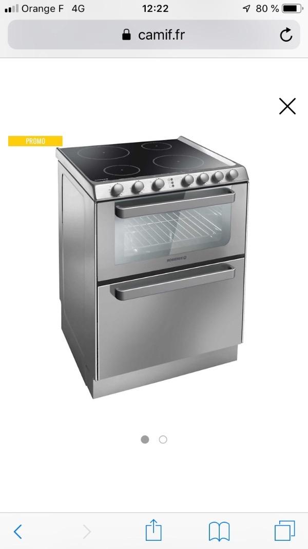Recyclage, Récupe & Don d'objet : cuisinière combinée