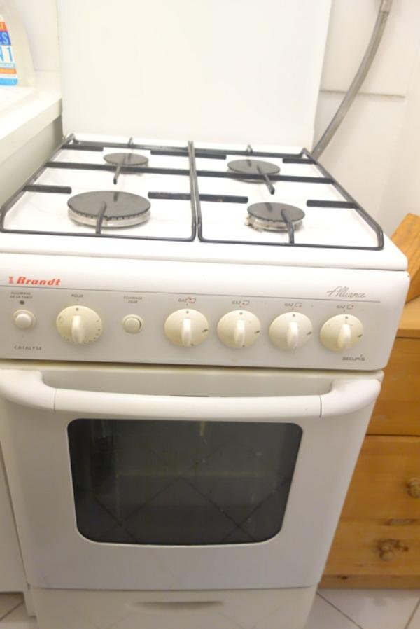 Recyclage, Récupe & Don d'objet : cuisinière gaz brandt