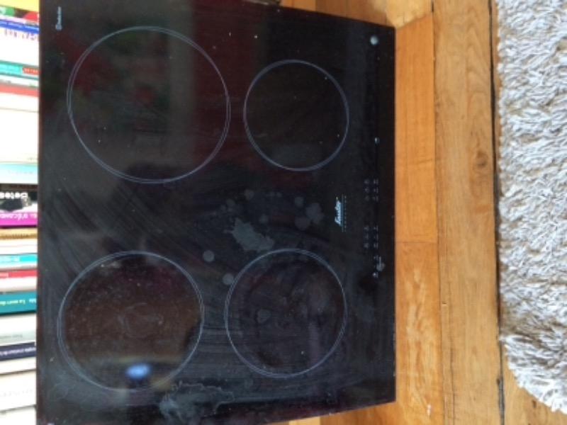 Recyclage, Récupe & Don d'objet : plaques de cuisson à induction - 4 feux
