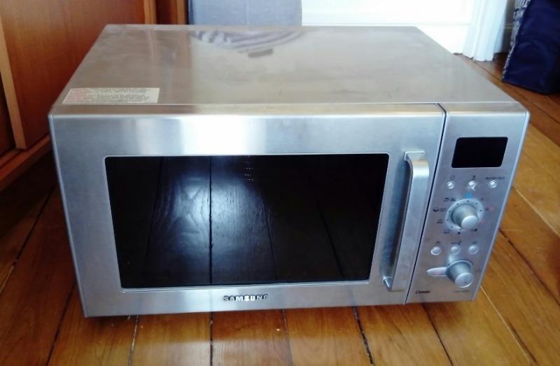 Recyclage, Récupe & Don d'objet : four micro-ondes combi