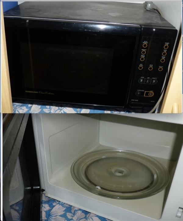 Recyclage, Récupe & Don d'objet : grand four micro-ondes à réparer