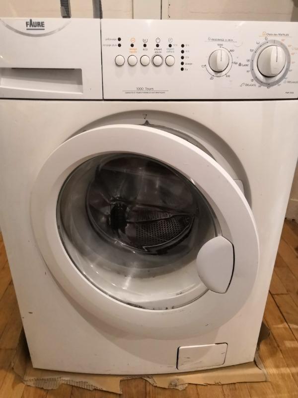 Recyclage, Récupe & Don d'objet : lave linge faure