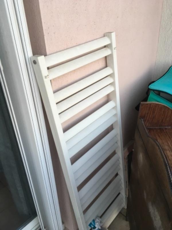 Recyclage, Récupe & Don d'objet : radiateur à serviette pour salle de bain