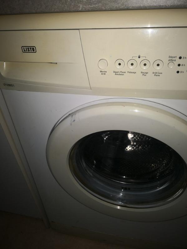Recyclage, Récupe & Don d'objet : lave linge 5k listo