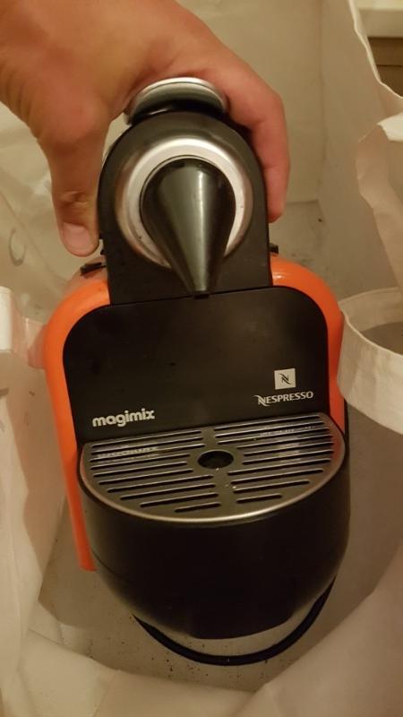 Recyclage, Récupe & Don d'objet : machine a cafe nespresso