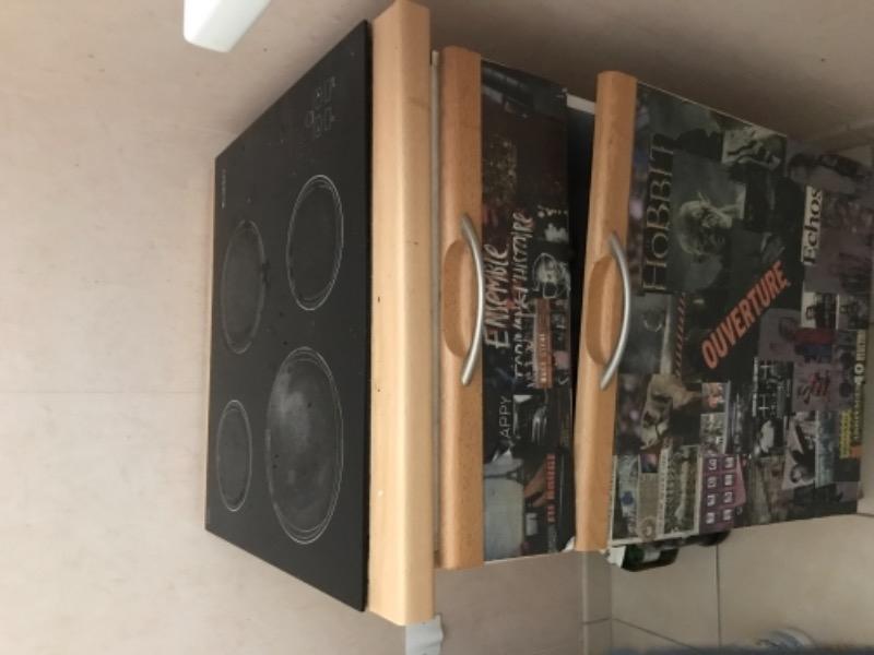 Recyclage, Récupe & Don d'objet : plaque de cuisson vitrocéramique