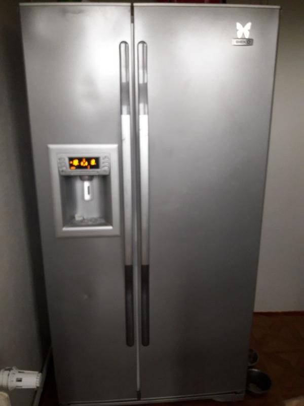 Recyclage, Récupe & Don d'objet : refrigerateur en marche