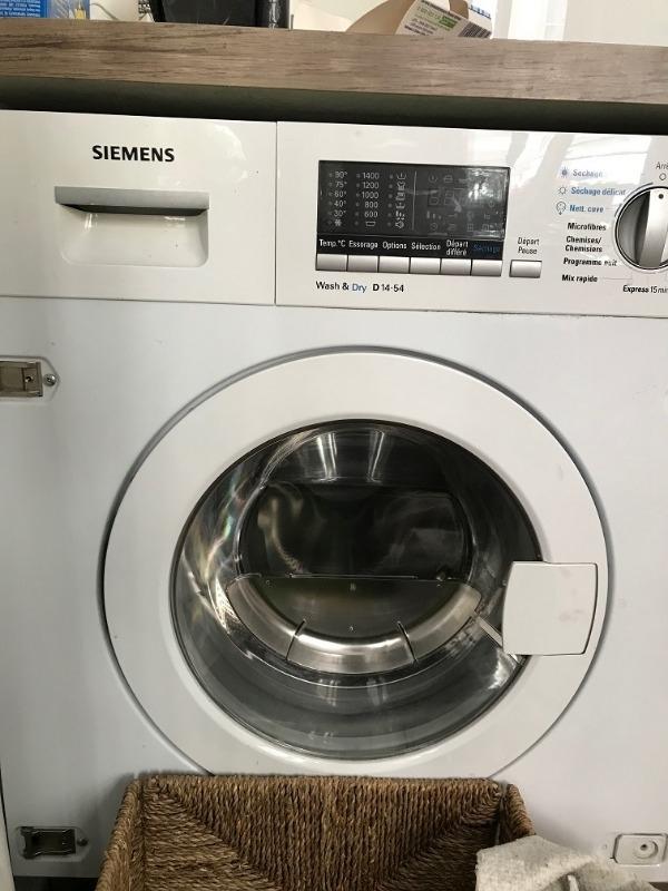 Recyclage, Récupe & Don d'objet : lave linge siemens d14-54 défectueuse