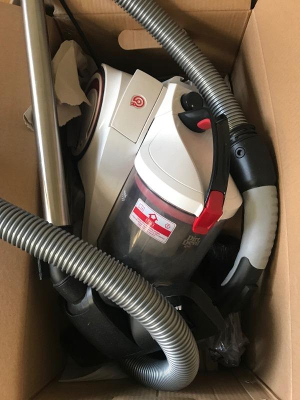Recyclage, Récupe & Don d'objet : aspirateur avec défauts