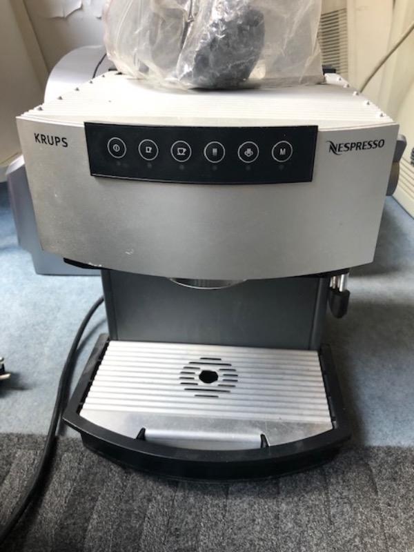Recyclage, Récupe & Don d'objet : machine nespresso krups