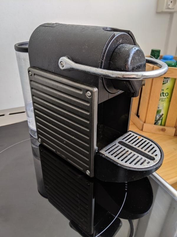 Recyclage, Récupe & Don d'objet : machine à café krup (capsule type nespresso)