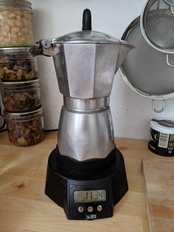 Recyclage, Récupe & Don d'objet : cafetière à l'italienne électrique - biale...