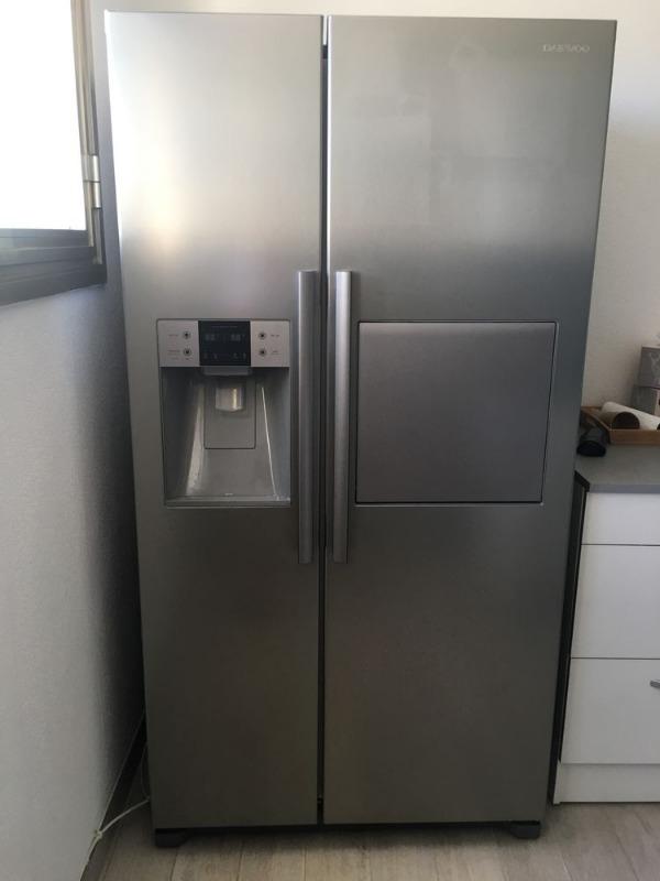 Recyclage, Récupe & Don d'objet : réfrigérateur américain grand model