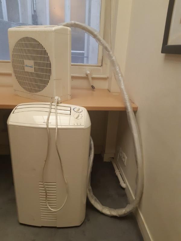 Recyclage, Récupe & Don d'objet : 2 climatiseurs mobiles